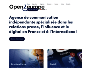 Détails : Agence open 2 europe
