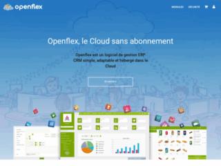 Openflex, un logiciel ERP complet, sécurisé dans le Cloud