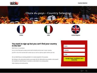 Détails : Participez aux sondages en ligne rémunérés