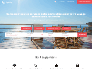 Détails : Opitrip - Le moteur de recherche sur l'économie collaborative