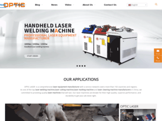 Website's thumnail : Laser Welding Machine Supplier