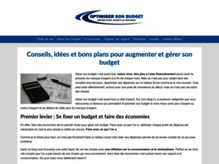 Détails : Optimiser son budget