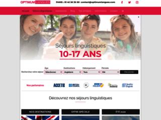 Détails : Séjours linguistiques et immersion - OptimumLangues