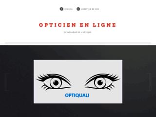 Détails : Opticien en  ligne