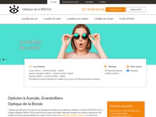 Optique de la Bresle, boutique de lunettes à Aumale
