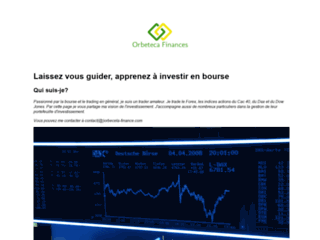 Orbeceta Finance, trader amateur
