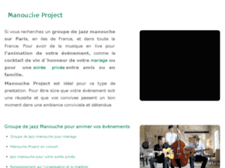 Détails : Manouche Project