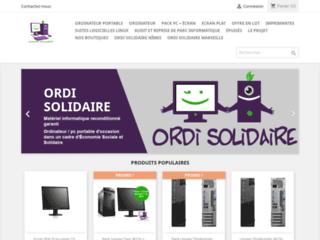 Détails : Ordinateurs d'occasion, ordi-solidaire