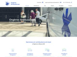Transport en VSL et ambulances dans l'Eure et Loir