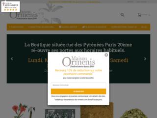 Détails : Maison Ormenis, herboristerie à Paris