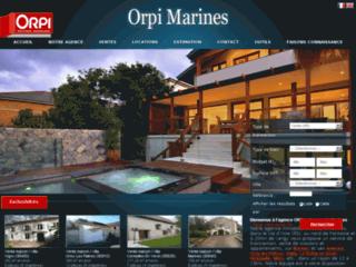 Détails : Agence immobilière Agence ORPI sur Marines