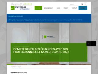 Détails : Meyrignac orthopédie : un centre de santé hors pair