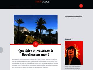 Détails : Le blog de voyage Osaka