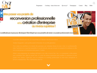Détails : Coaching reconversion professionnelle et création d'entreprise