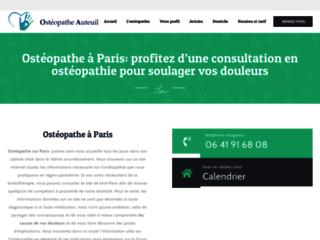 Détails : Consultation d'ostéopathie à domicile