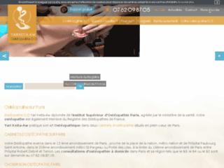 Annuaire des ostéopathes de Paris