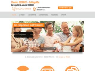 Détails : Thomas Desobry, ostéopathe pour femme enceinte à Amiens