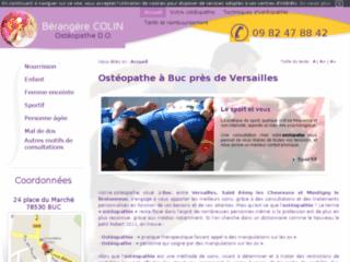 Détails : Ostéopathe Versailles