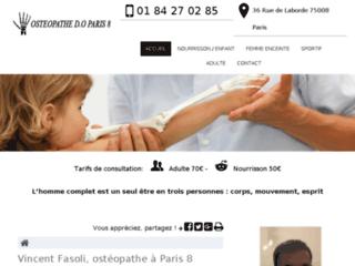 Ostéopathe pour sportif à Paris 8