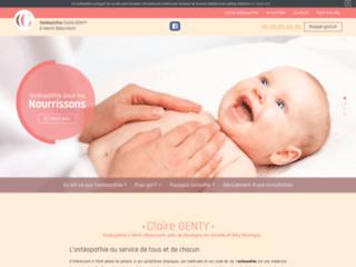 Claire GENTY, Ostéopathe à Hénin-Beaumont