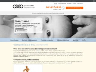Ostéopathe à Biot, Jennifer Grim