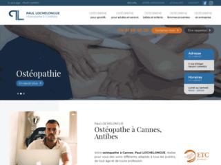Cabinet d'ostéopathie à Cannes