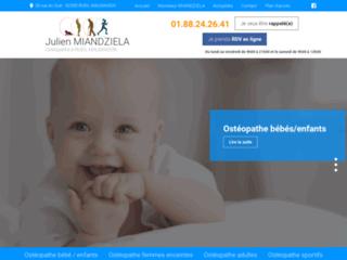 Ostéopathe à Rueil Malmaison, Julien MIANDZIELA