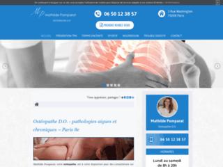 Détails : Votre ostéopathe dans le 75