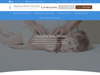 Cabinet ostéopathie à Paris 16