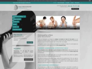 Ostéopathe à Nice, Diane Tirouvanziam
