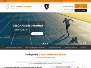 Ostéopathe à Bois-Guillaume, Rouen Jonathan Veschambes