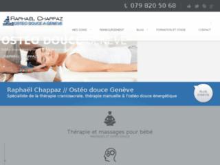Détails : Raphaël Chappaz, ostéopathie à Genève