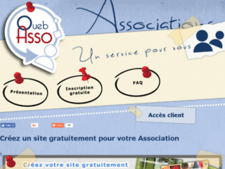 Détails : Oueb Asso : comment créer son site gratuit