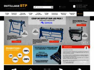 Equipements et matériels pour le bâtiment : Outillage-btp.com