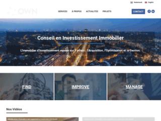 OWN, l'expertise en investissement immobilier