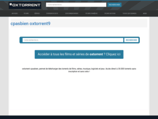 télécharger cpasbien torrent9 sur oxtorrent