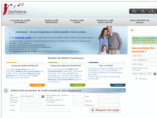 Détails : Oxyfinance, rachat de crédit pour les particuliers