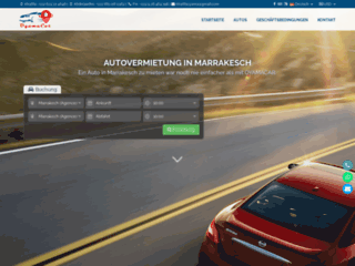 Détails : location voitures à marrakech