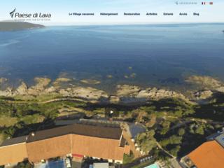 Détails : Village de vacances Paese di Lava