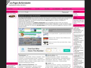 Détails : Les pages du Keroinsite, annuaire gratuit