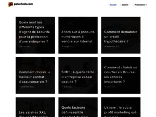 Paiecheck, votre blog généraliste