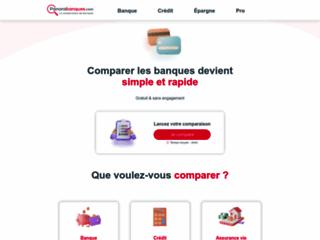 Détails : Panorabanques : Comparateur de banques - Comparer les banques et services bancaires