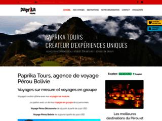 Détails : Paprika Tours