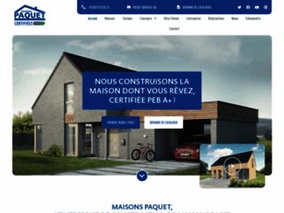 Détails : Expert en construction de maison en bois en Belgique