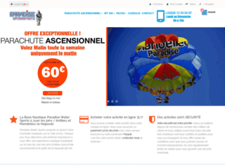 Site officiel Paradise Water Sports