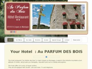 Hôtel au Parfum des Bois **