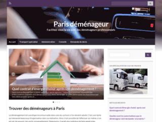 Détails : Paris déménageur