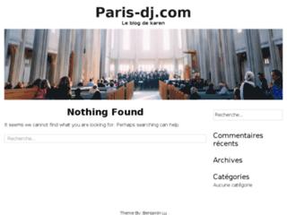 Détails : Paris dj : animation et sonorisation dj