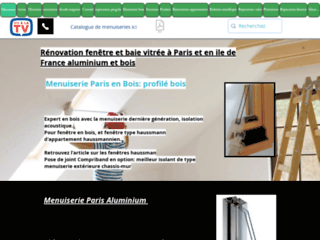 La réparation de fenêtre à Paris