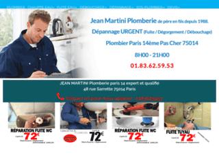 Jean-Louis Plomberie, travaux de plomberie, Paris 14